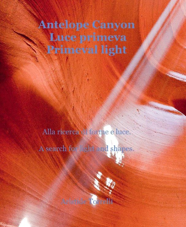 View Antelope Canyon Luce primeva Primeval light by Aristide Torrelli