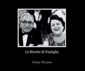 Le Ricette di Famiglia book cover