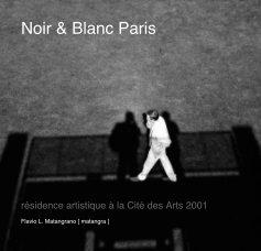 Noir Blanc Paris book cover