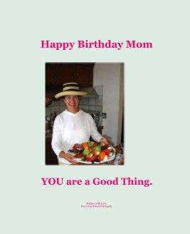 Happy Birthday Mom book cover