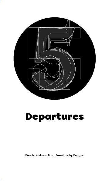 View Departures by Rudy VanderLans