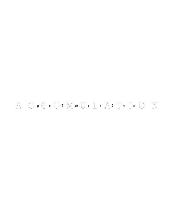 View Primitive Accumulation Vol.1 by tuftedcrest
