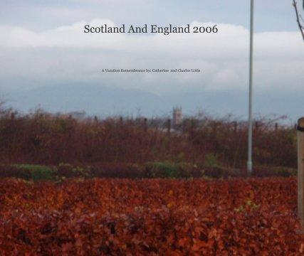 Scotland And England 2006 book cover