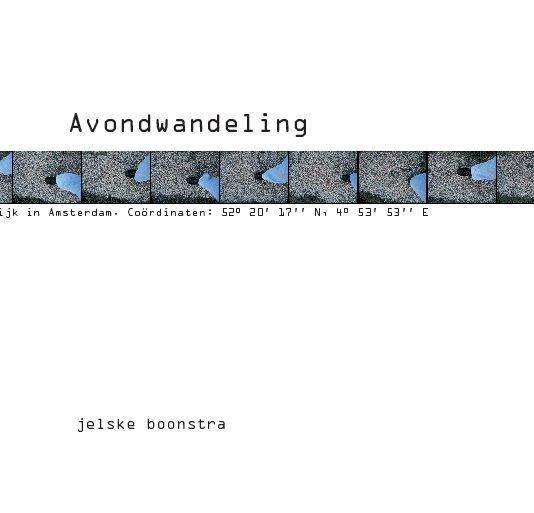 View Avondwandeling by Jelske Boonstra