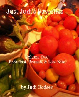 Just Judi's Favorites Volume Two book cover