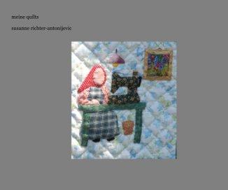 meine quilts susanne richter-antonijevic book cover