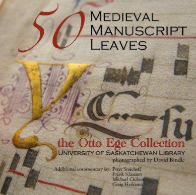 50 Medieval Manuscript Leaves book cover