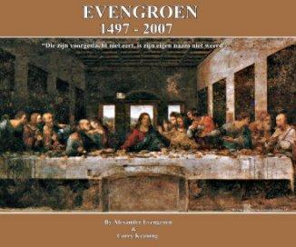 Evengroen 1497 - 2007 2e editie book cover