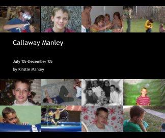 Callaway Manley book cover