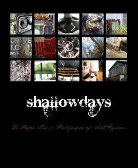 shallowdays book cover