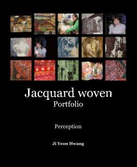 Jacquard woven Portfolio book cover