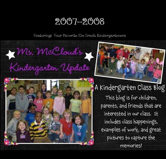 View Ms. McCloud's Kindergarten Update by Megan McCloud