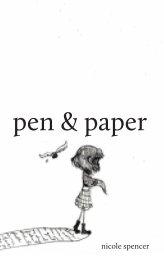 pen & paper book cover