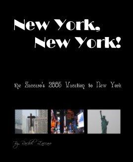 New York, New York! book cover