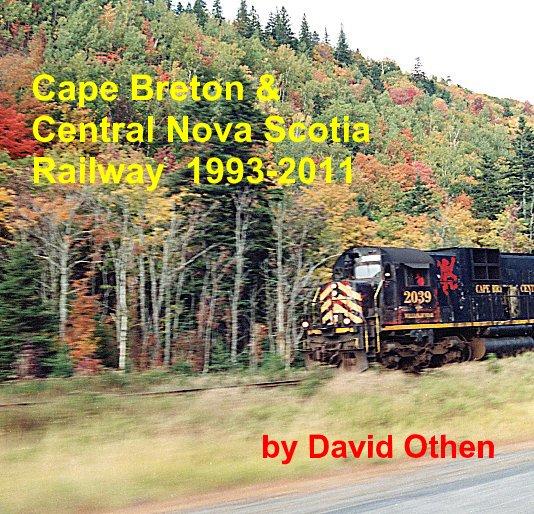View Cape Breton & Central Nova Scotia Railway 1993-2011 by David Othen