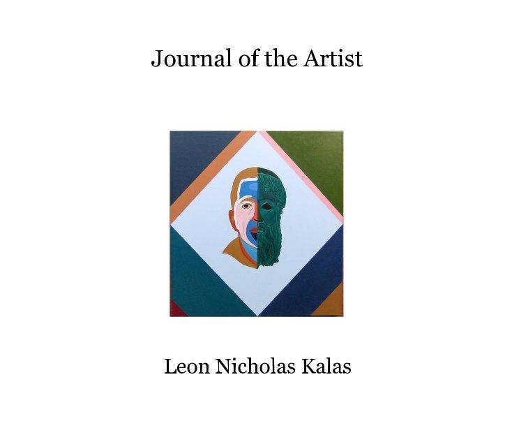View Journal of the Artist 8x10 by Leon Nicholas Kalas