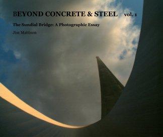 BEYOND CONCRETE & STEEL vol. 1 book cover