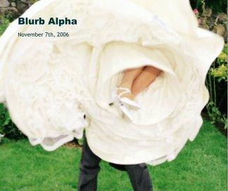 Blurb Alpha book cover