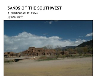 SANDS OF THE SOUTHWEST book cover