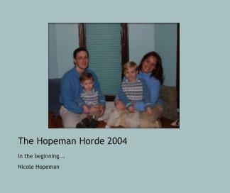 The Hopeman Horde 2004 book cover