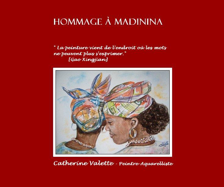 View Hommage à Madinina by Catherine Valette - Peintre-Aquarelliste