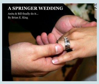 A SPRINGER WEDDING book cover