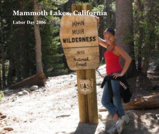 Mammoth Lakes, California book cover