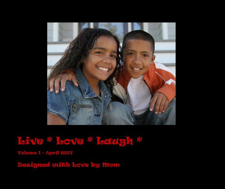 Ver Live * Love * Laugh * por Designed with Love by Mom
