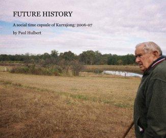Future History book cover