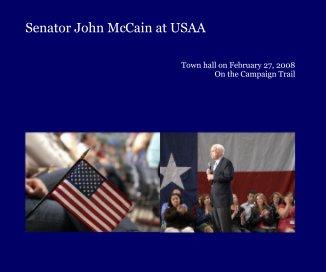 Senator John McCain at USAA book cover