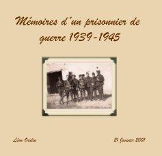 Mémoires d´un prisonnier de guerre 1939-1945 book cover