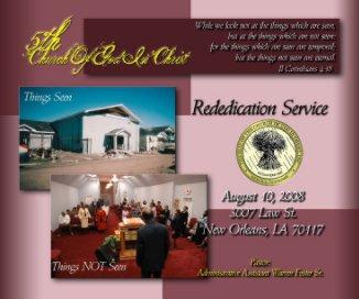 5th Church (Re-dedication) book cover