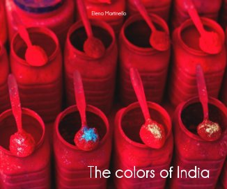 The colors of India book cover
