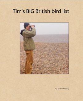 Tim's BIG British bird list book cover