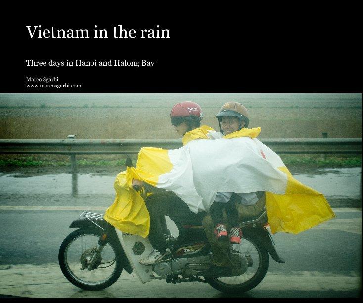 View Vietnam in the rain by Marco Sgarbi www.marcosgarbi.com