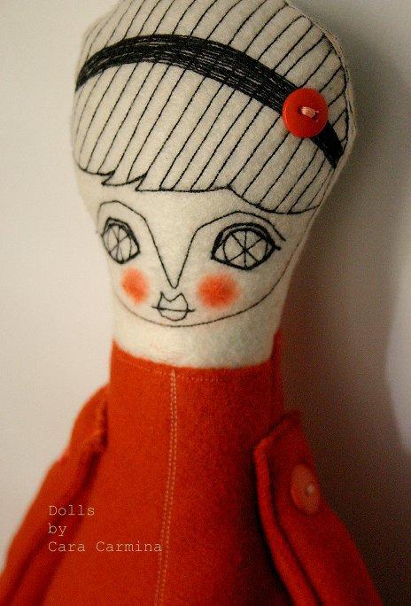 View Dolls notebook by Cara Carmina