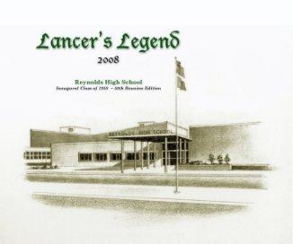 Lancer's Legend ~ 2008 book cover
