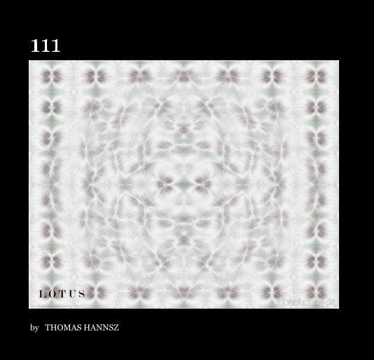 View 111 L O T U S by THOMAS HANNSZ