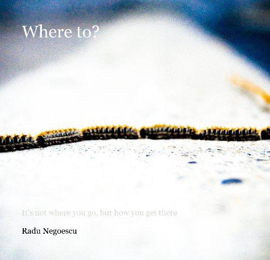 View Where to? by Radu Negoescu