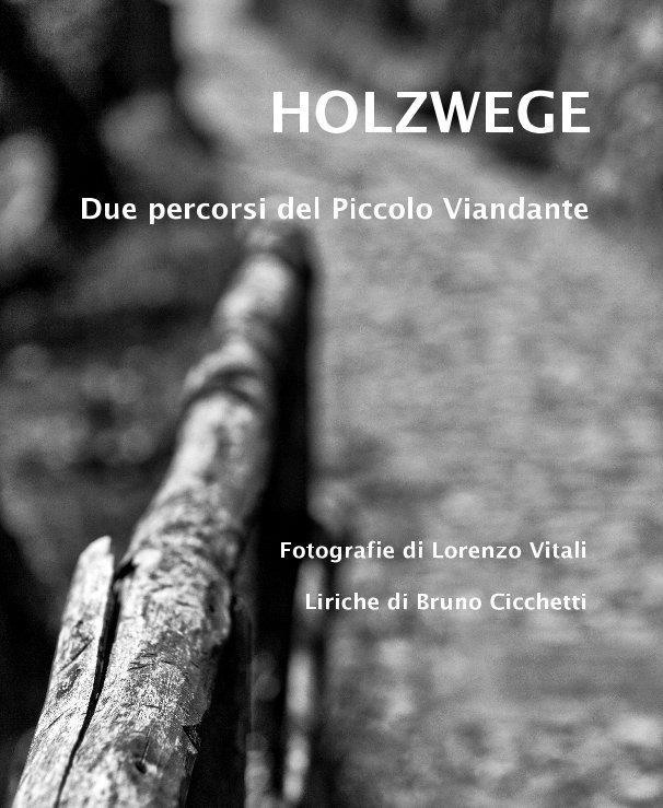 View HOLZWEGE by Fotografie di Lorenzo Vitali Liriche di Bruno Cicchetti