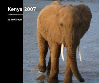 Kenya 2007 book cover