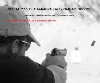 SFODA 7315- HAMMERHEAD COMBAT DIVERS book cover