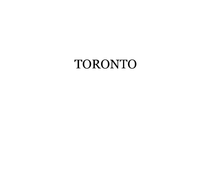 View Toronto by Dennis Church