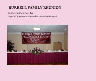 BURRELL FAMILY REUNION book cover