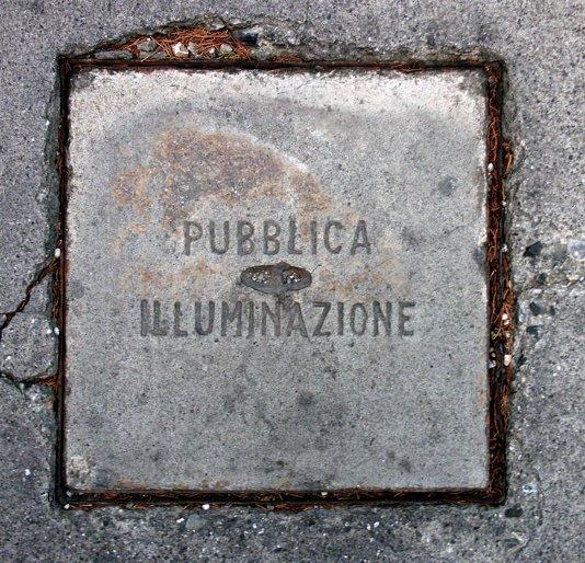 View Manhole Cover Cube by György Czabán