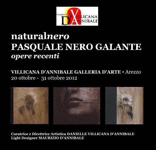 """View PASQUALE NERO GALANTE """"naturalnero""""  opere recenti by DANIELLE VILLICANA D'ANNIBALE"""