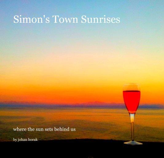 View Simon's Town Sunrises by johan horak