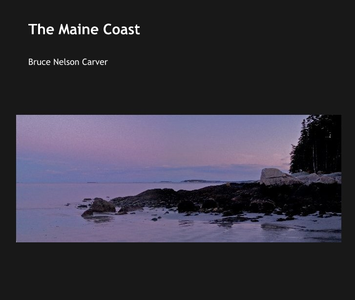 View The Maine Coast by Bruce Nelson Carver
