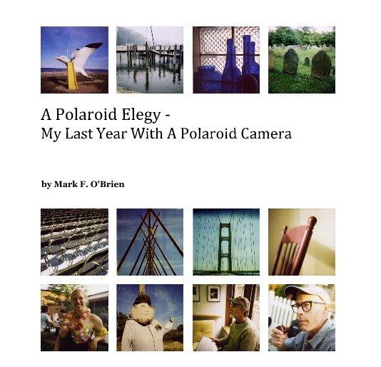 View A Polaroid Elegy - My Last Year With A Polaroid Camera by Mark F. O'Brien