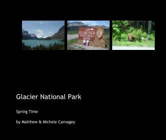 Glacier National Park book cover